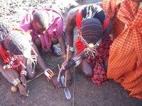 Masai_villege_fire